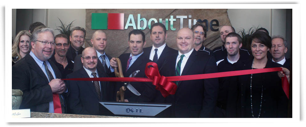 AboutTime RibbonCut Pic